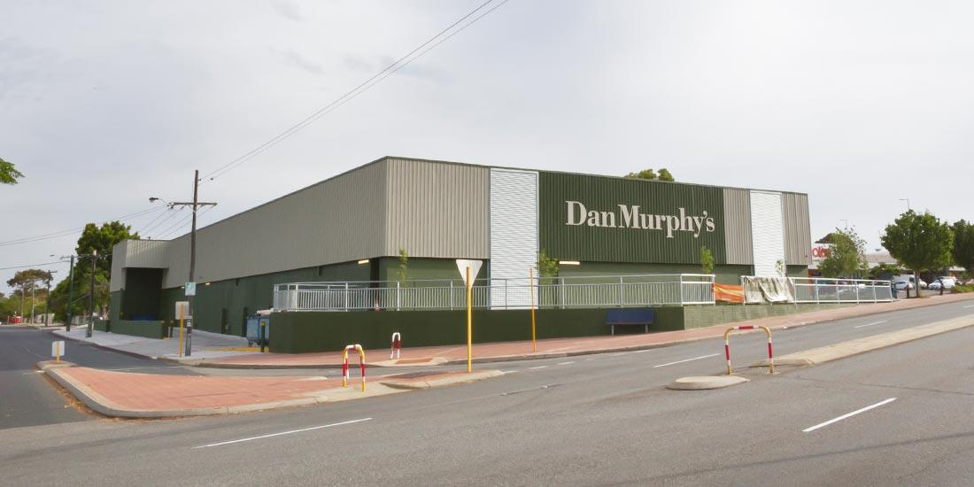 Exterior of Dan Murphy's