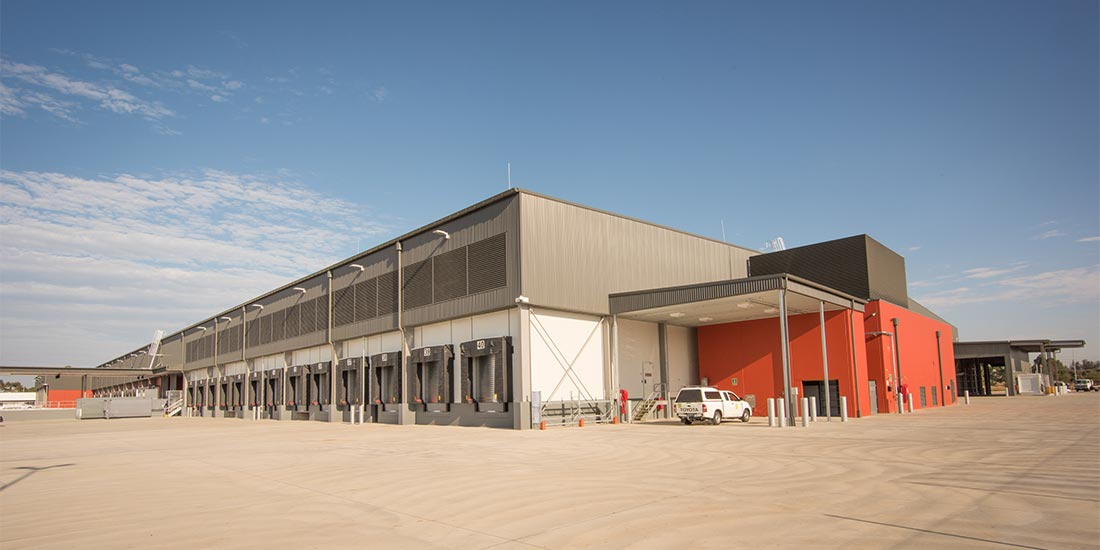 ALDI Warehouse exterior