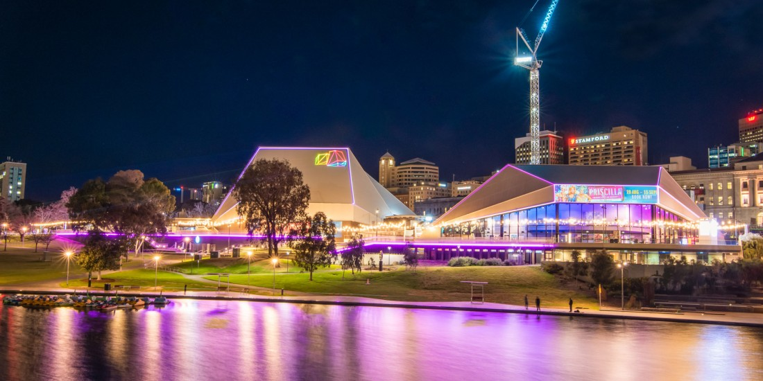 Adelaide Festival Centre panoramic view