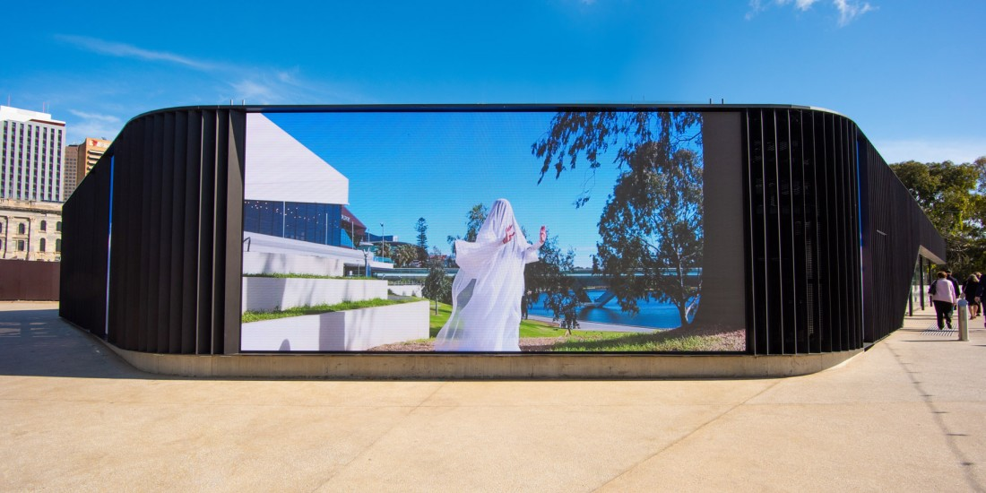 Adelaide Festival Centre visual wall