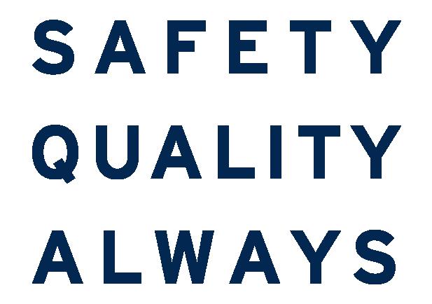 Safety Quality Always