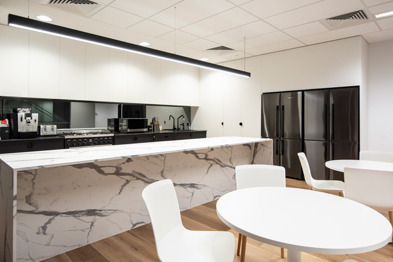 Office kitchen space